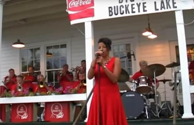 Concert at the Weldon's Ice Cream Parlor, Buckeye Lake