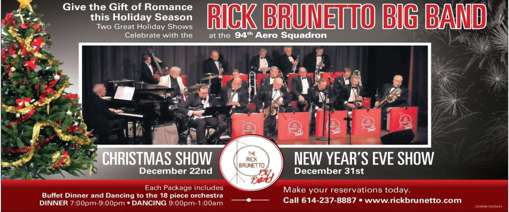 Christmas Party Live Music with the Rick Brunetto Big Band